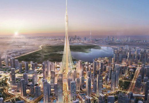Дубай започва строителство на новата най-висока кула в света (видео)