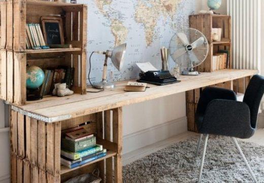 """50+ """"направи си сам"""" идеи за мебели от щайги"""