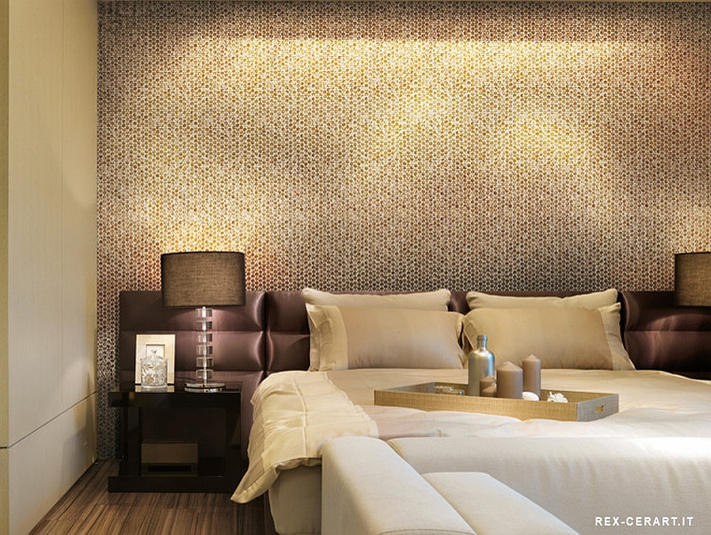 bedroom-accent-wall-with-snazzy-penny-tiles