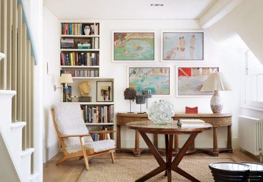 Как да подредим картини на стената?