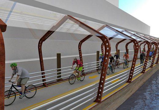 Ново решение за колоездачите: плаващи пътеки