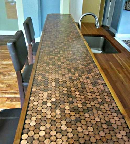 penny-tiles-kitchen-countertop-table-top-2