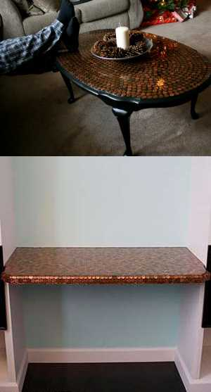 penny-tiles-kitchen-countertop-table-top-4