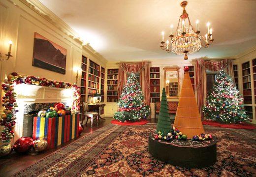 Коледната украса на семейство Обама
