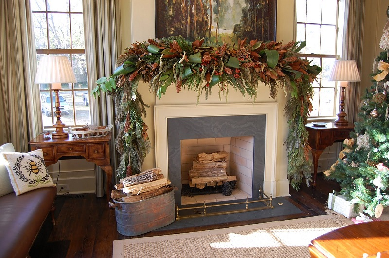innovative-fireplace-decorating-ideas-with-tv