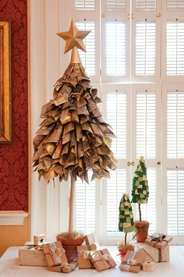 cardmaking-ideas-to-christmas-christmas-tree-old-newspapers