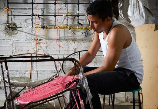 Плетени мебели направени с много любов