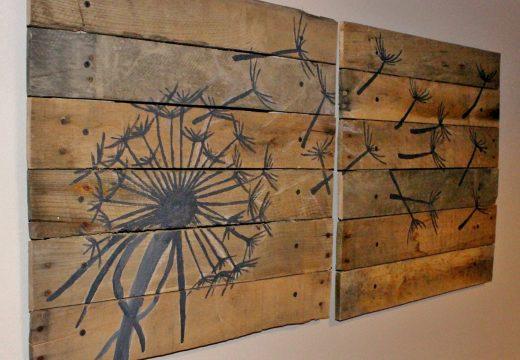 Изкуство от палети – нестандартна красота