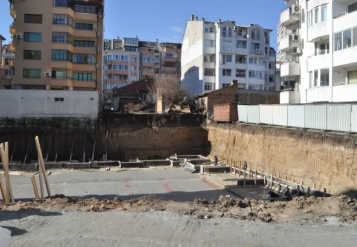 Масови глоби за строители в Бургас