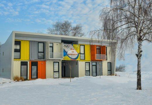 ЕТЕМ участва в първата сграда от морски контейнери в София