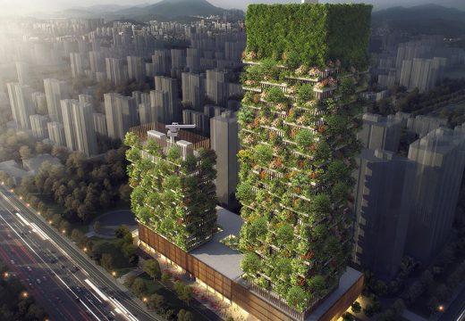 Първата вертикална градина в Азия ще е готова скоро