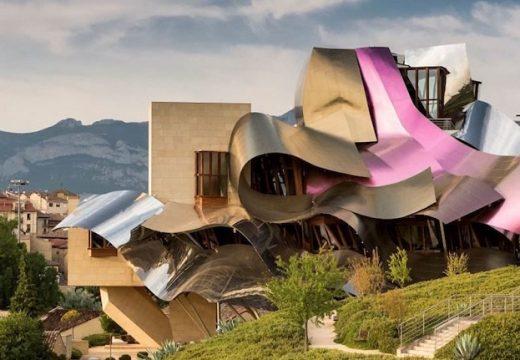 Франк Гери преобрази винарна в Испания