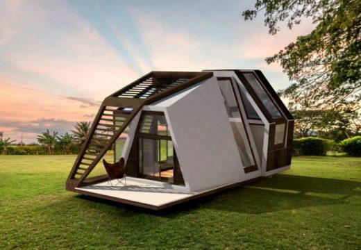 Нов модел сглобяема къща изумява с дизайн