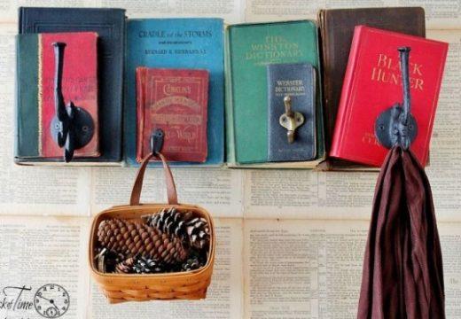 "40+ ""направи си сам"" идеи за старите книги"