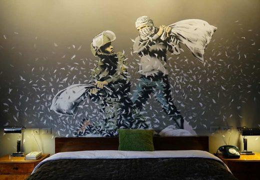 Банкси отвори хотел с най-лошата гледка в света