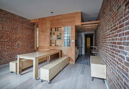 Архитект направи трансформиращ се апартамент