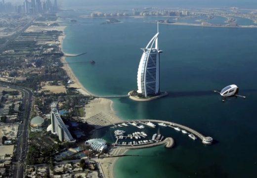 Дронове таксита в Дубай