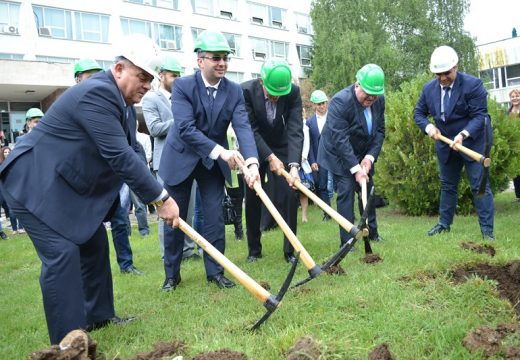 Стартира строителство на нов корпус на УНСС