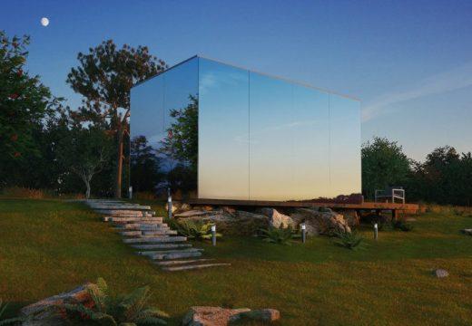 Къщи построени от стъкло