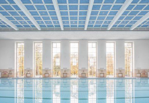 Възстановяват басейн от нацистка Германия