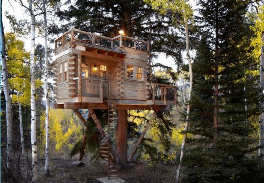 33 дървесни къщички за големи