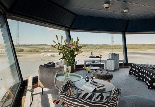 Кула на летище става луксозен апартамент