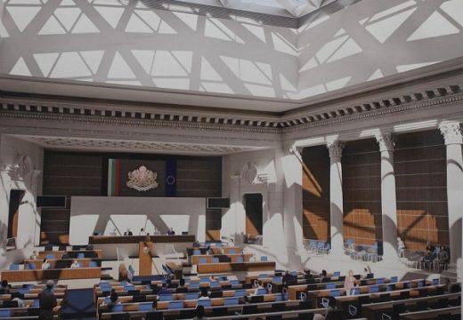 Новата пленарна зала ще е готова през август 2018 г.