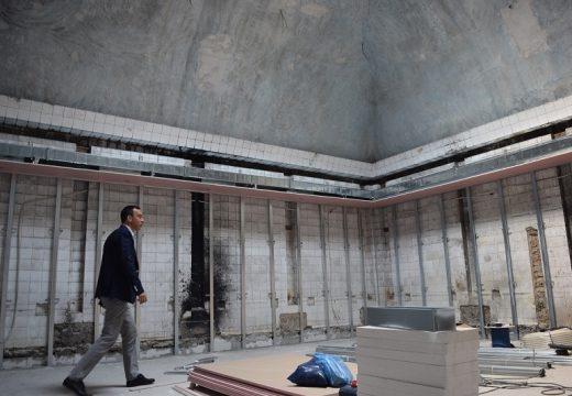 Светлина в тунела за една от старите бани на България