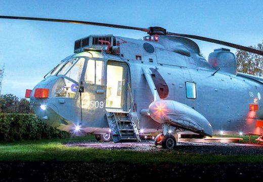 Новият хит за почивка е луксозен хеликоптер-хотел