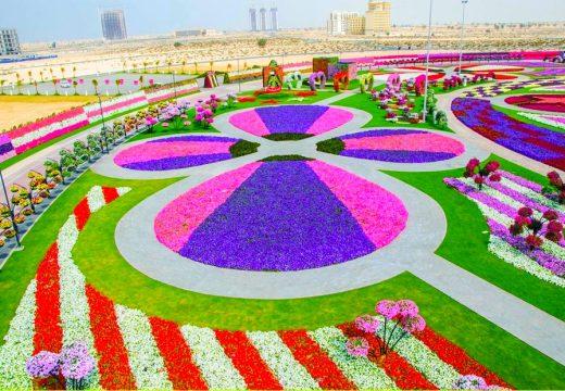 Най-голямата градина от цветя в света