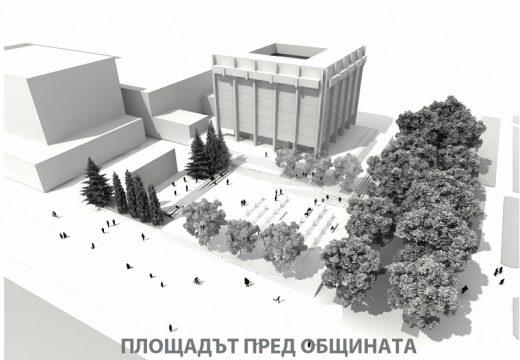 Фонтани от звук и светлина, сцена и детски площад в центъра на Стара Загора