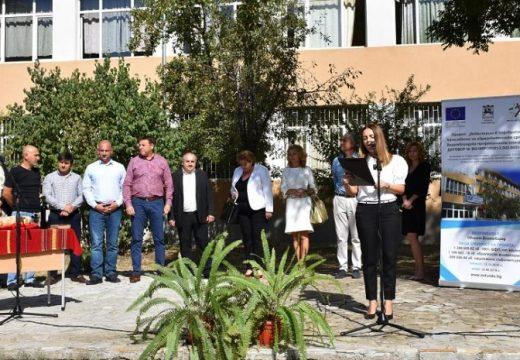 Строят нова сграда към училище в Благоевград