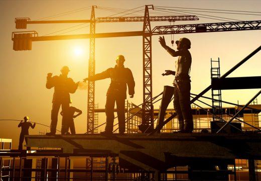 Строителната продукция се увеличава през лятото
