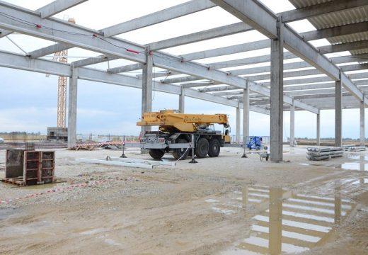 Започна строителство на завод за самолетни части