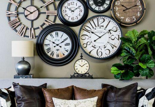 30 идеи за декорация с часовници