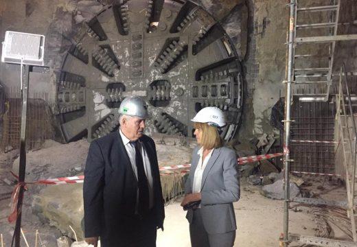 """Тунелопробивната машина за метрото стигна бул. """"България"""""""