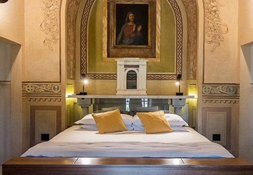 Църква стана луксозен апартамент в Тоскана