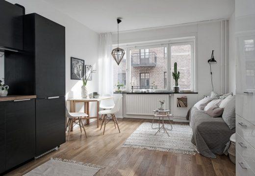 Скандинавска функционалност в една стая