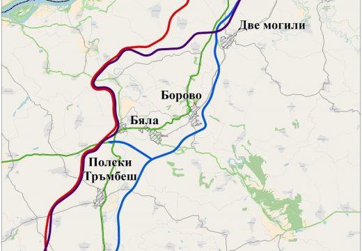 """Обсъждат вариантите на трасе за АМ """"Русе – Велико Търново"""""""