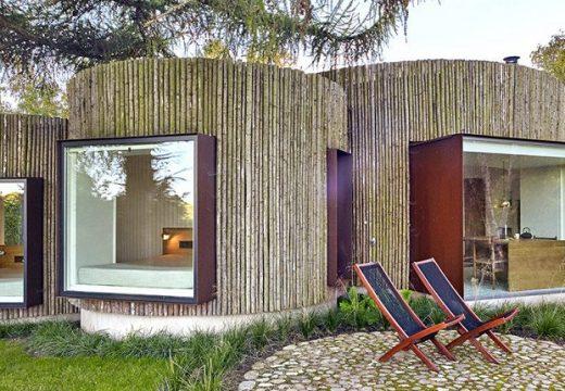 Страхотна къща с формата на дънери е място за душевен мир