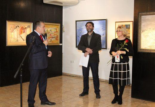 """Юбилейна изложба """"20 години галерия """"Видима"""""""