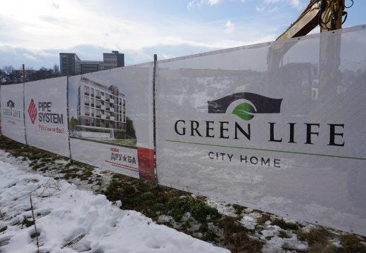 Нова жилищна зона се строи между кварталите  Дружба и Младост