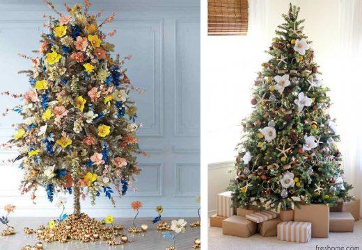 50+ идеи за модерна украса на елхи