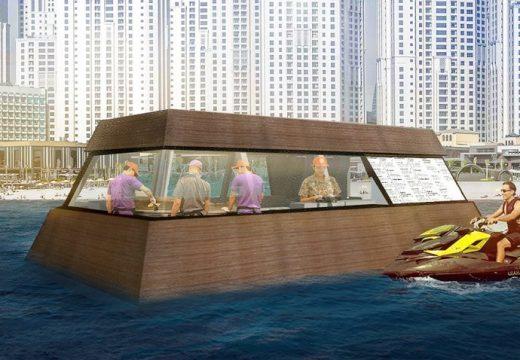 Първата в света плаваща кухня