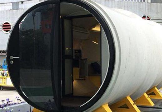 Иновация: Дом в бетонна тръба! (видео)