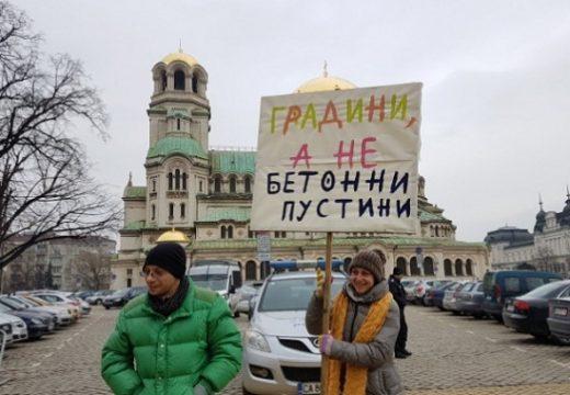 Протест срещу строителството в земеделски земи