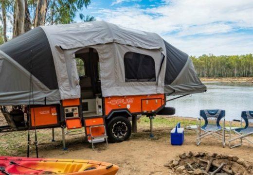 Палатка на колела е новото инженерно чудо