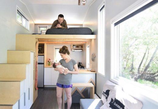 Как се живее на 19 кв.м. с бебе