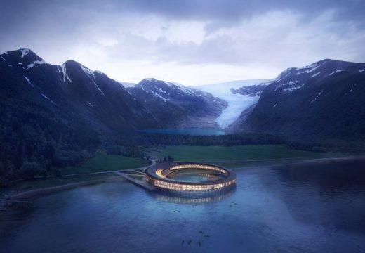 Нов футуристичен хотел се появява на Северния полярен кръг