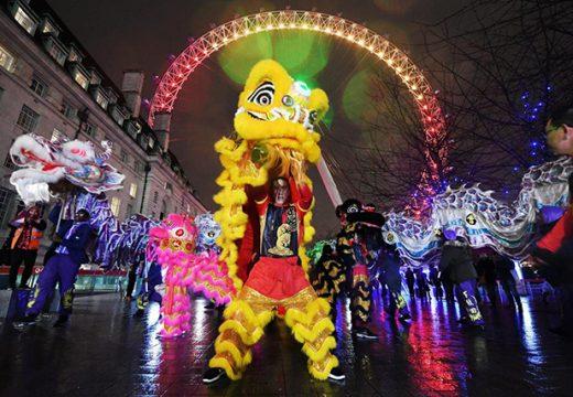 Светът празнува китайската Нова година